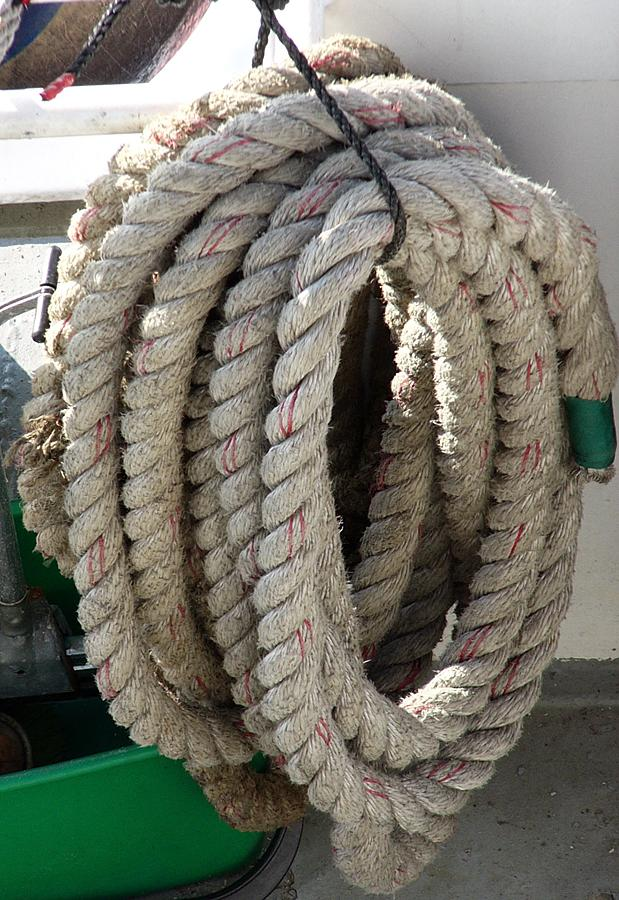 How to tie up rope