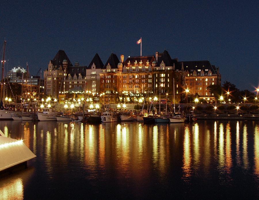 Fairmont Empress Hotel At Night